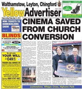 Yellow Advertiser May 2013